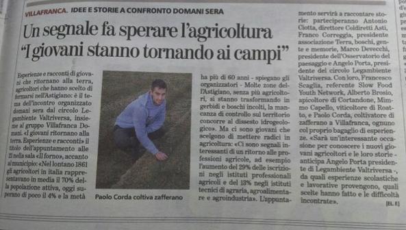 La Stampa Asti 20/06/2013