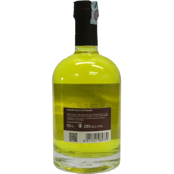 il Filo Rosso, liquore zafferano 50cl versione classica