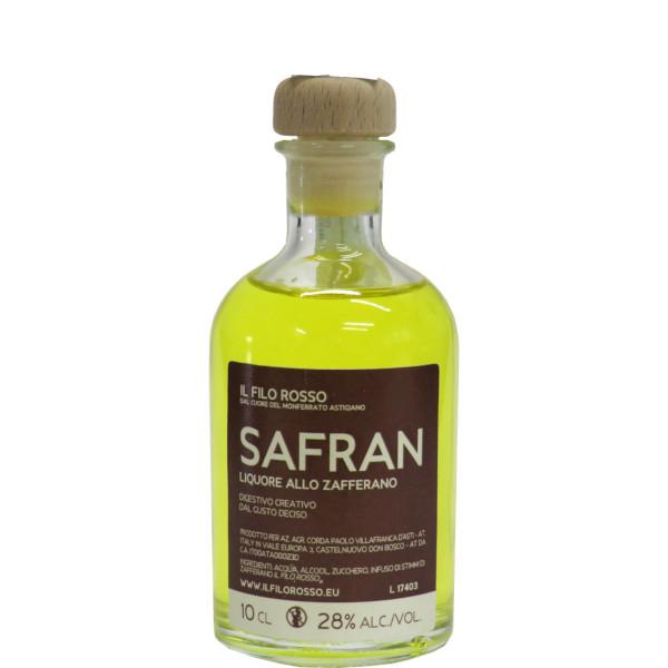 il Filo Rosso, saffron liqueur 10cl classic version