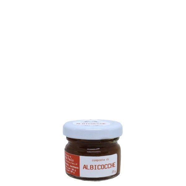 il Filo Rosso, apricots premium jam, 25g