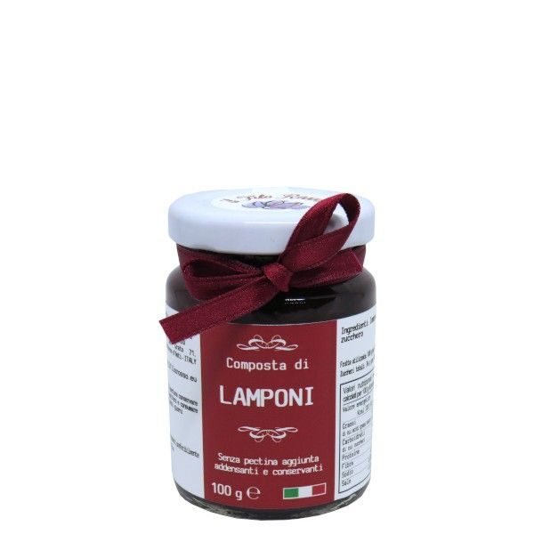 il Filo Rosso, Himbeermarmelade extra, 100g