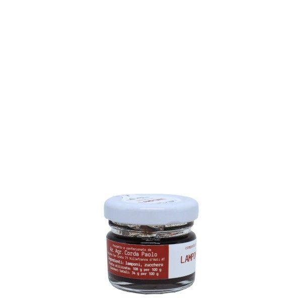 il Filo Rosso, composta di lamponi 25g