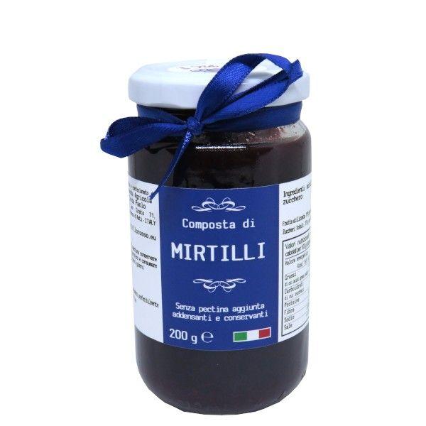 il Filo Rosso, blueberries premium jam,  200g