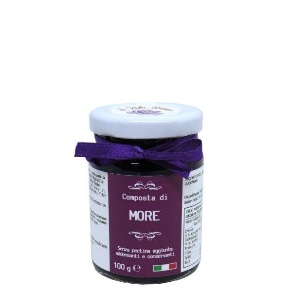 il Filo Rosso, blackberries premium jam, 100g
